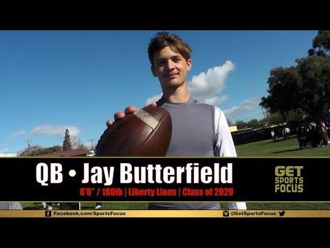 QB Jay Butterfield - Liberty Lions C/O 2020 | Delta Gators 7v7