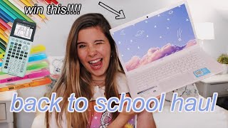BACK TO SCHOOL HAUL + GIVEAWAY