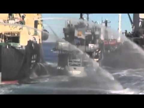 Three Ships crash in Southern Ocean