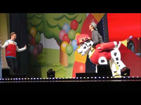 PAW Patrol Live! at the Dolby Theatre in Hollywood - PAWsome Pup Introductions