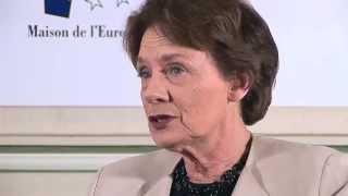 Interview de Catherine Lalumière: l'accord de Schengen