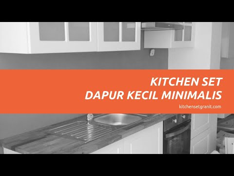 Hubungi 0812 8606 6416 Kitchen Set Dapur Kecil Minimalis Youtube