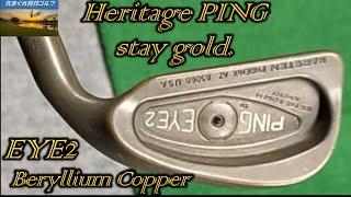 PING EYE2 Beryllium Coṗper [Heritage PING stay gold]