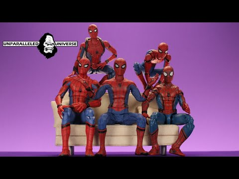 Who made the Best Homecoming Spider-Man?!? (Legends, Mezco, Mafex, Figuarts, Diamond)