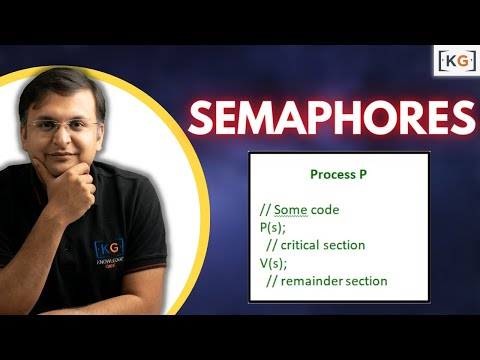 Semaphores | Process Synchronization | OS | Operating System | part -8