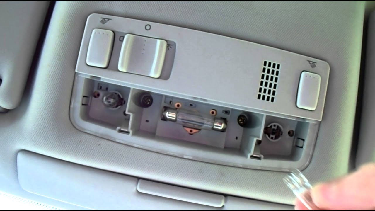Volkswagen Jetta Radio Fuse Box Diagram Volkswagen Passat Interior Overhead Light Bulb Change