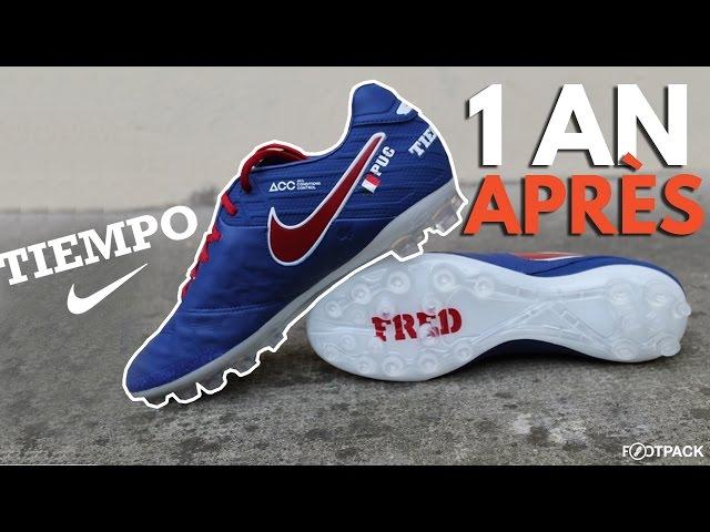 100% authentic 7a09c 6d6d2 Test- la Nike Tiempo Legend 6, un an après