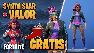 *TUTORIAL *HOW TO GET A FREE SKIN? SYNTH STAR + VALUE ? FORTNITE BR