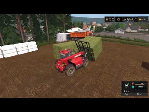 Farming Simulator 17  Timelapse #37 | Stappenbach With seasons.