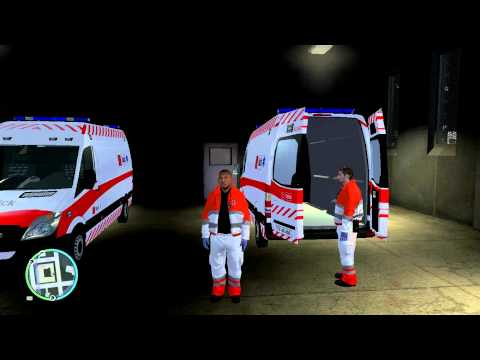 GTA IV - Danish Medicvan And Uniform Up Close