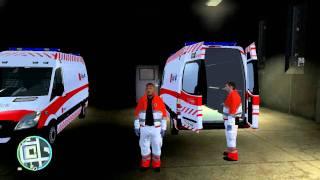 GTA IV - Danish Medicvan And Uniform Up Close