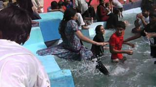 cosy water park girl funny clip