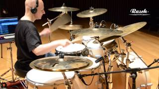 Rasch Drums | Carbon Fiber Snare Drum | Ángel Crespo