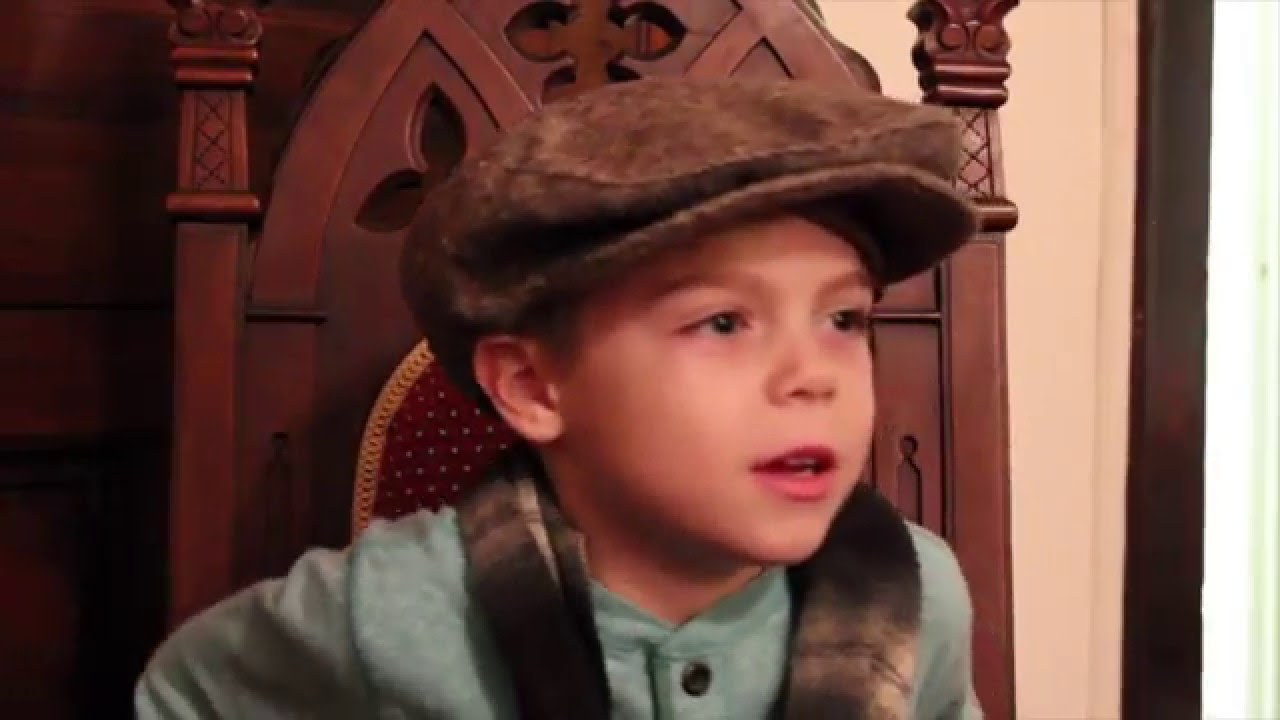 LITC Christmas Carol Preview 'Tiny Tim Speaking' - YouTube