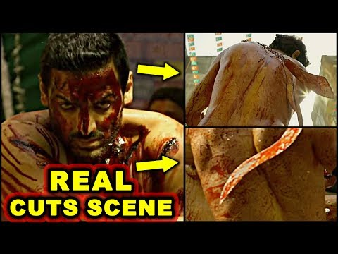 Real Cuts: John Abraham Real Cuts Scene In Satyamev Jayate Movie - HUNGAMA