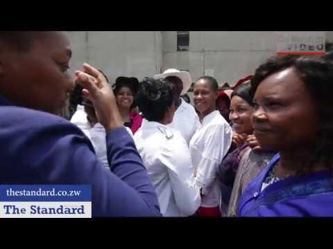 What jailed Gumbura did when he met his wives, children