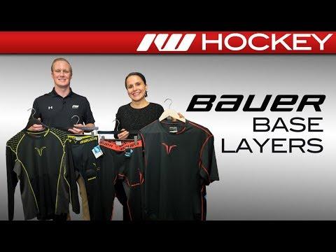 Bauer Hockey Base Layer Insight // Premium & Core Lines