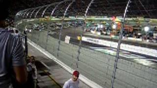NASCAR front row at Bristol