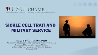 Sickle Cell Trait Implications On Exercise And Military Service