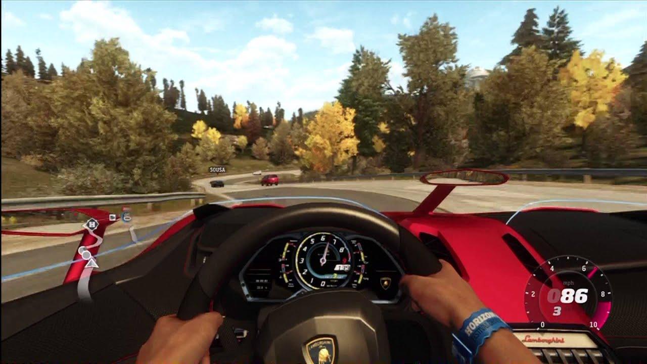 Forza Horizon Lamborghini Aventador J Dlc Quick Gameplay Youtube