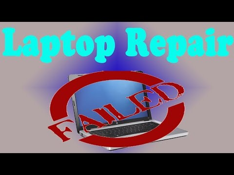 Laptop Repair Fail - HP G62 Fan Replacement (System Fan 90B)