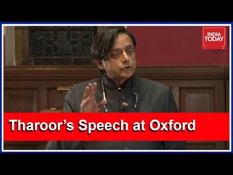 Shashi Tharoor's Stirring Speech At Oxford Union Goes Viral