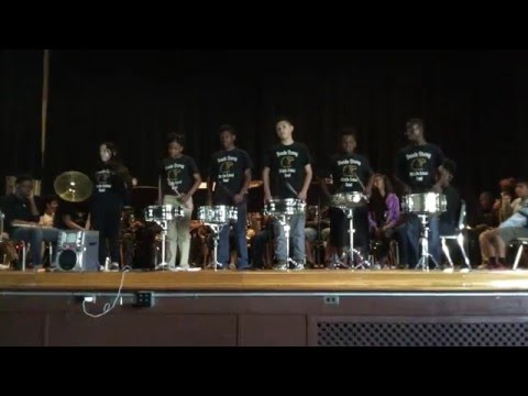 Advanced Band Concert 2016 - Boude Storey Middle School