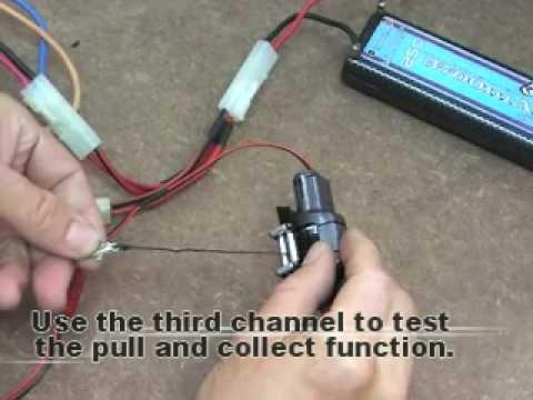 3racing Crawler Winch For 1 10 Rc Crawler Car Youtube