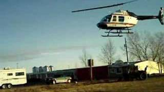 helicopter at the starlite motel assiniboia