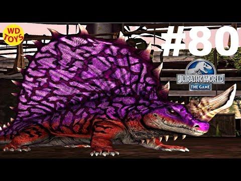 Jurassic World - The Game Dinosaurs Ludia Episode 80  Vs Hybrid Indominus Rex Gameplay  - WD Toys