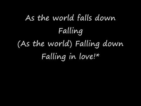 David Bowie  As The World Falls Down!* With Lyrics!*