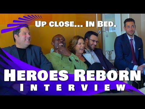 Heroes Reborn: EXCLUSIVE Cast interview Greg Grunberg, Ryan Guzman and more!!