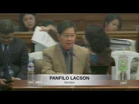 Lacson says Taguba's presentation validates corruption in BOC