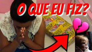 DOAÇÃO E REGRESSO DE MARIA CLARA:BEBÊ REBORN