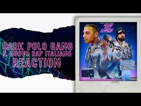TRAP LOVERS - DARK POLO GANG ( Disco completo pt1) | REACTION