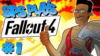 Sips Plays Fallout 4 - Part #1 - Casing the Jones