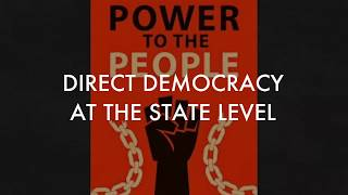 Direct Democracy at the State Level