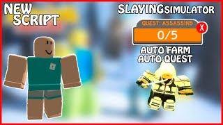 [NEW] Roblox Slaying Simulator | Auto Farm / Auto Quest | Slaying Simulator Hack | [FREE] [OP]
