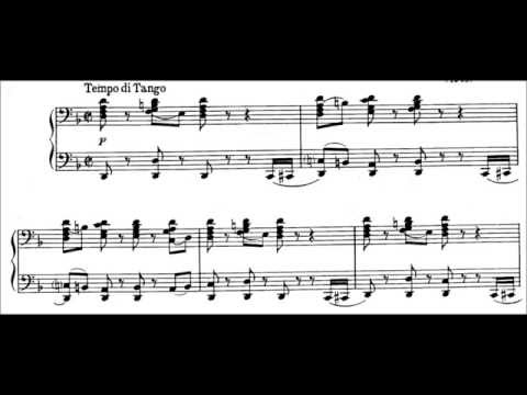 Igor Stravinsky - Tango (audio + sheet music)