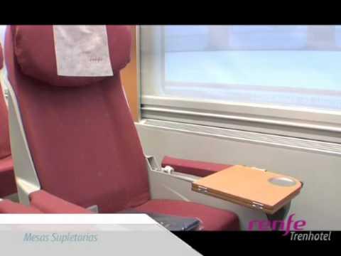 Renfe trenhotel youtube for Elipsos trenhotel