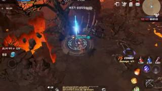 Lineage 2 Revolution - LvL 80 Elf Archer Gameplay (EXP Dungeon 60)