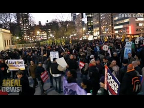 New  York Janitors Join Occupy Wall Street