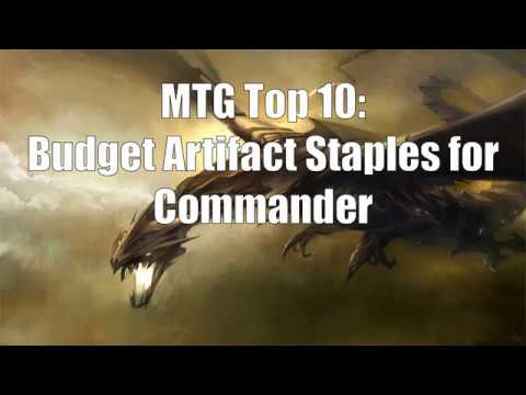 MTG Top 10: Budget (Non-Mana Rock) Artifact Staples For EDH!