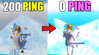 HOW TO GET 0 PING IN CREATIVE TO EDIT LIKE A MACRO...(XBOX/PS4/MOBILE/PC)