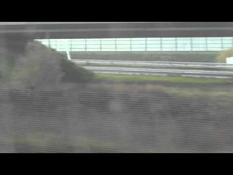 Viaje en tren rapido, Thalys Amsterdam - Paris