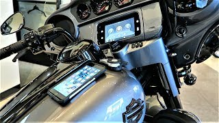 "2019 Harley-Davidson GTS Infotainment System with Apple Car Play ""First Look"" and Tutorial"