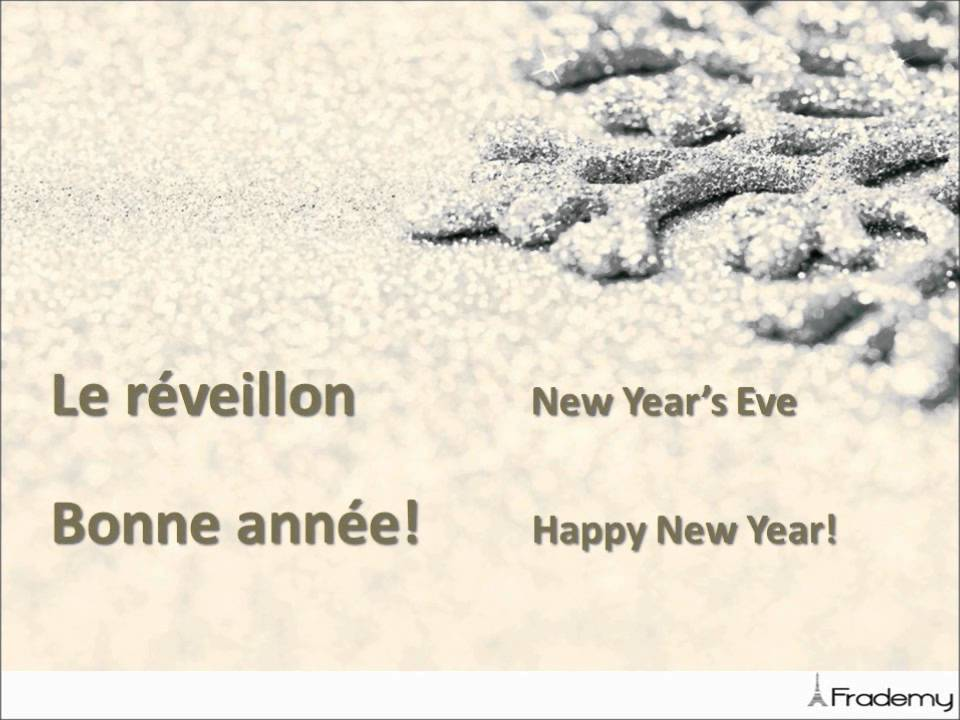 French Fun: New Year Wishes in French! - YouTube