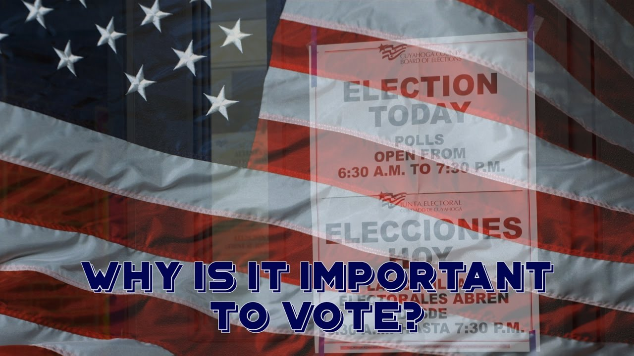 why is it important to vote why is it important to vote