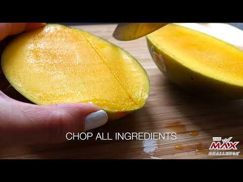 THE MAX Challenge Compliant Recipe - Avocado Mango Salsa