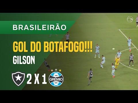GOL (GILSON) - BOTAFOGO X GRÊMIO - 28/04 - BRASILEIRÃO 2018
